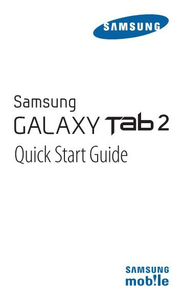 visual instructions on how to operate a galaxy tablet a