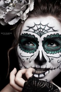 easy skeleton face paint instructions