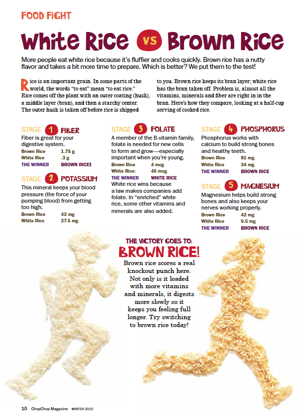 instructions for pc long grain rice