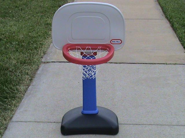 lil tikes basketball hoop instructions