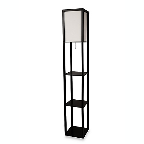etagere floor lamp with charging station instructions
