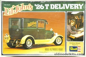 model kit instructions for revell 1926 ford t delivery van