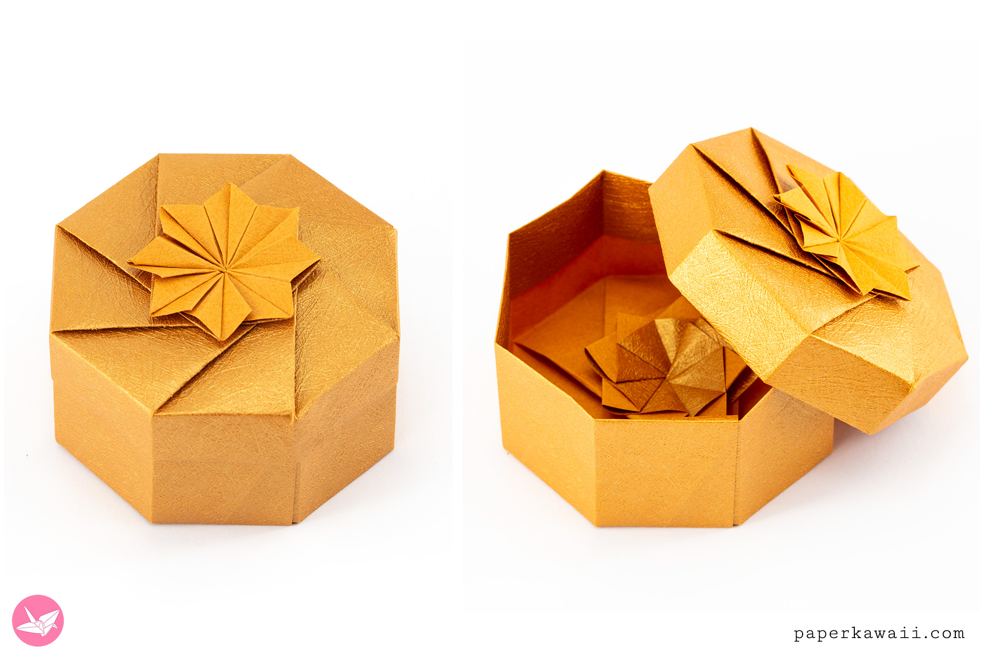 modular octagonal box origami modular box instructions