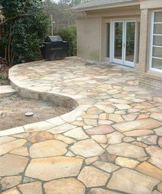 instructions for a flagstone walkway