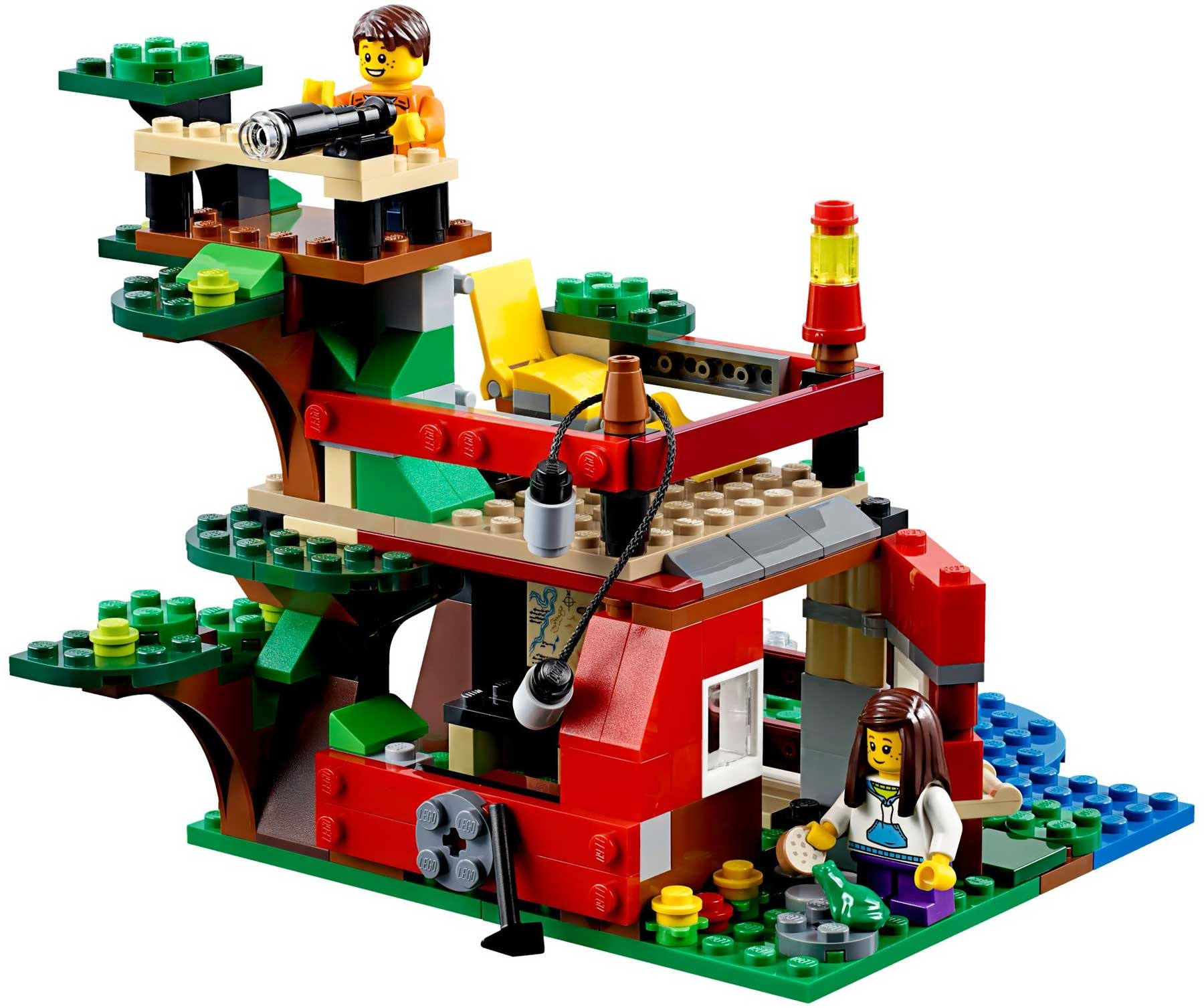 lego creator treehouse 31053 instructions
