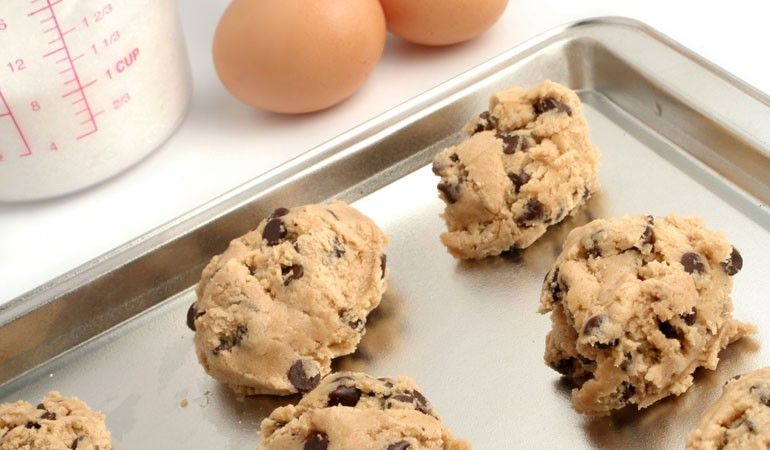 nestle chocolate chip cookie dough baking instructions