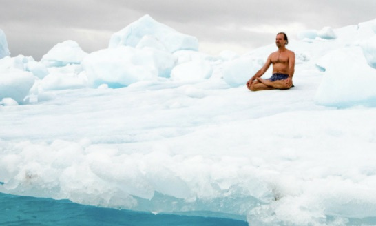 wim hof cold shower instruction