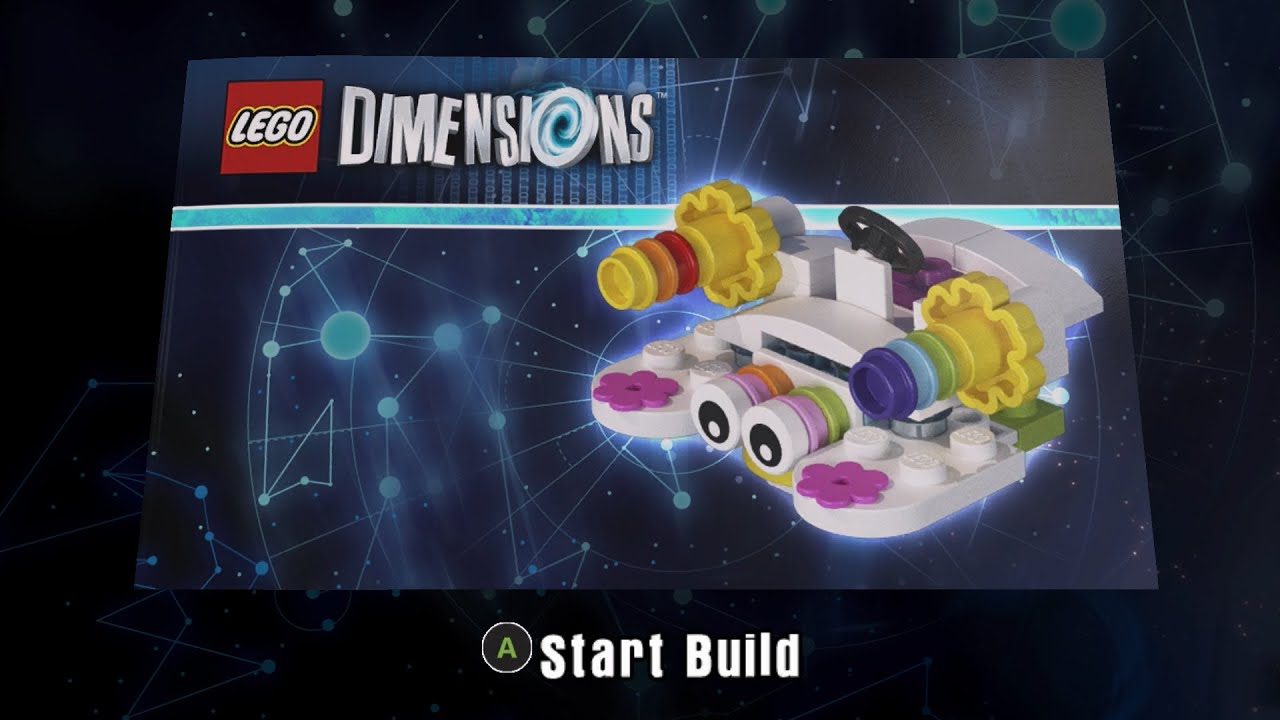 lego dimensions instructions 71231