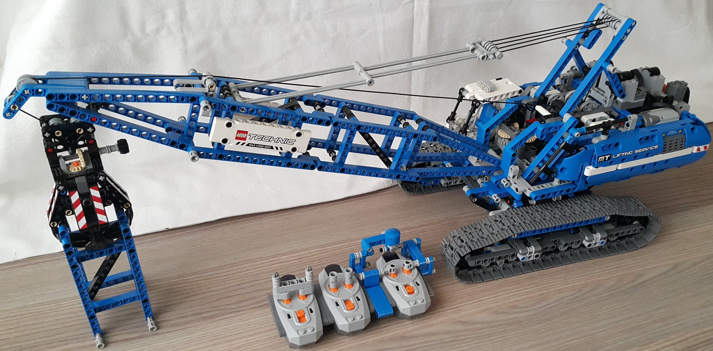 lego technic crane instructions 42042