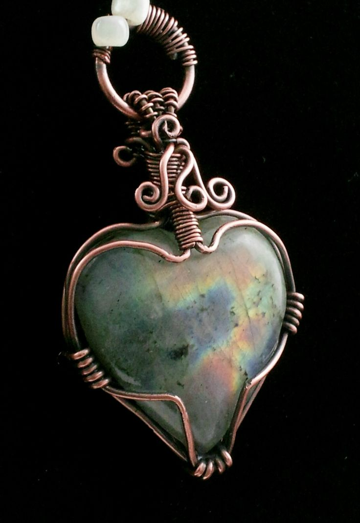 wire heart ring instructions
